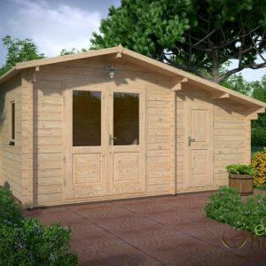 Log cabins ireland for Garden room 5x3